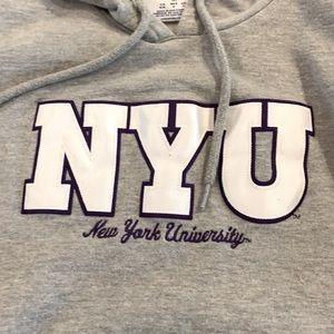 NYU champion hoodie Size M